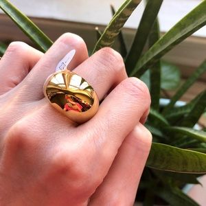 Jewelry - Chubby Gold Dome Ring